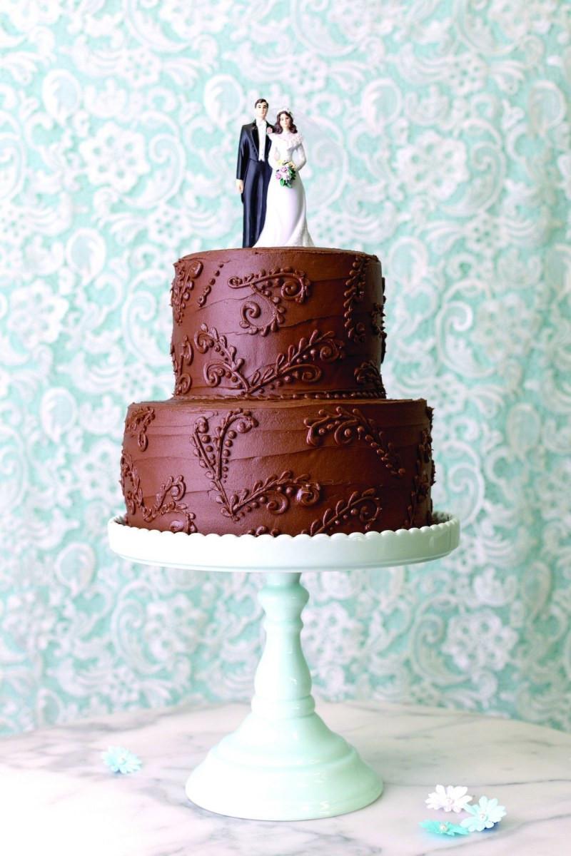 Simple Wedding Cakes Without Fondant  Cake Decorating Ideas Without Fondant