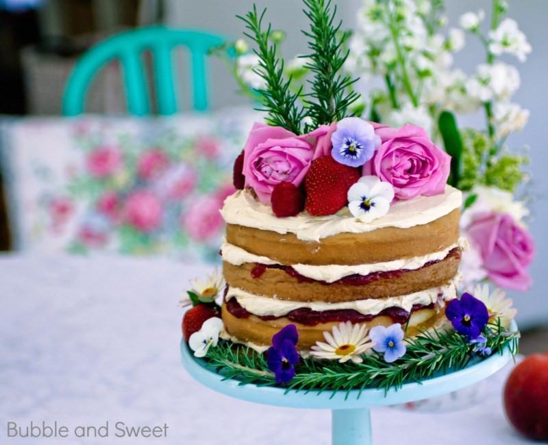 Simple Wedding Cakes Without Fondant  Easy Cake Decorating Ideas Without Fondant