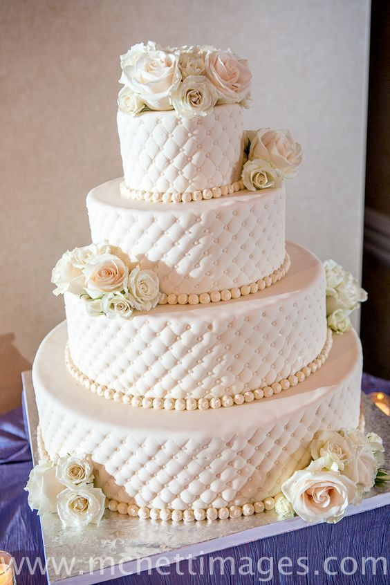 Simple Wedding Cakes Without Fondant  Pinterest • The world's catalog of ideas