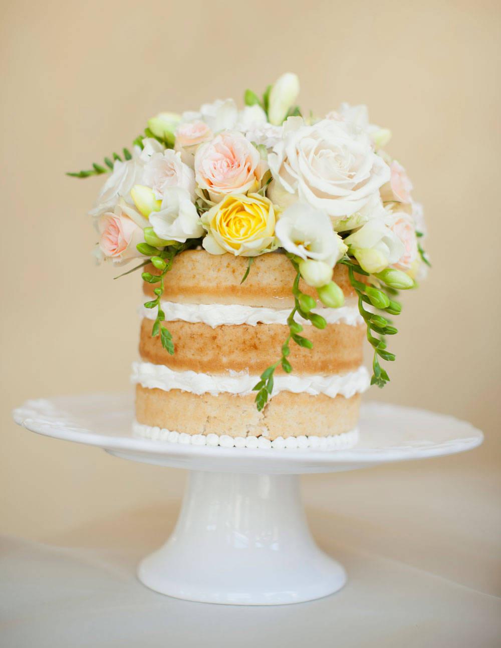 Simple Wedding Cakes Without Fondant  Wedding Cakes Without Fondant Wedding Cakes Without Frosting