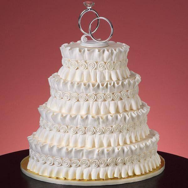 Simple Wedding Cakes Without Fondant  Wedding cake made without fondant Food Craft