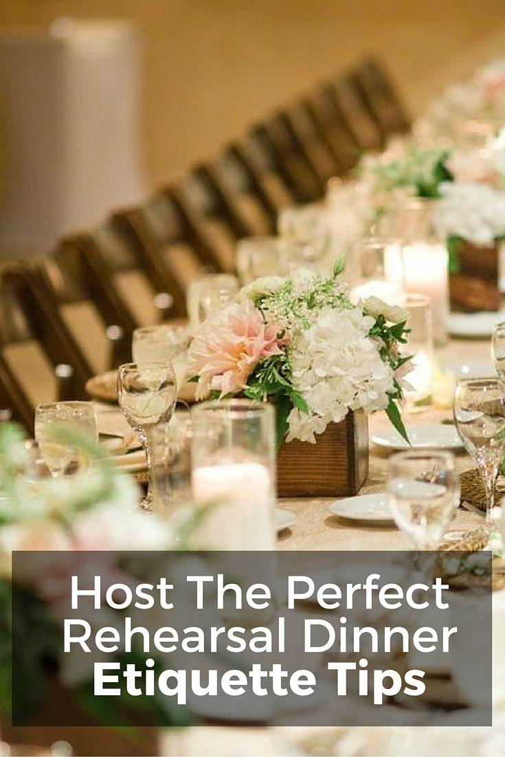 Simple Wedding Rehearsal Dinners  rehearsal dinner etiquette Wedding Etiquette