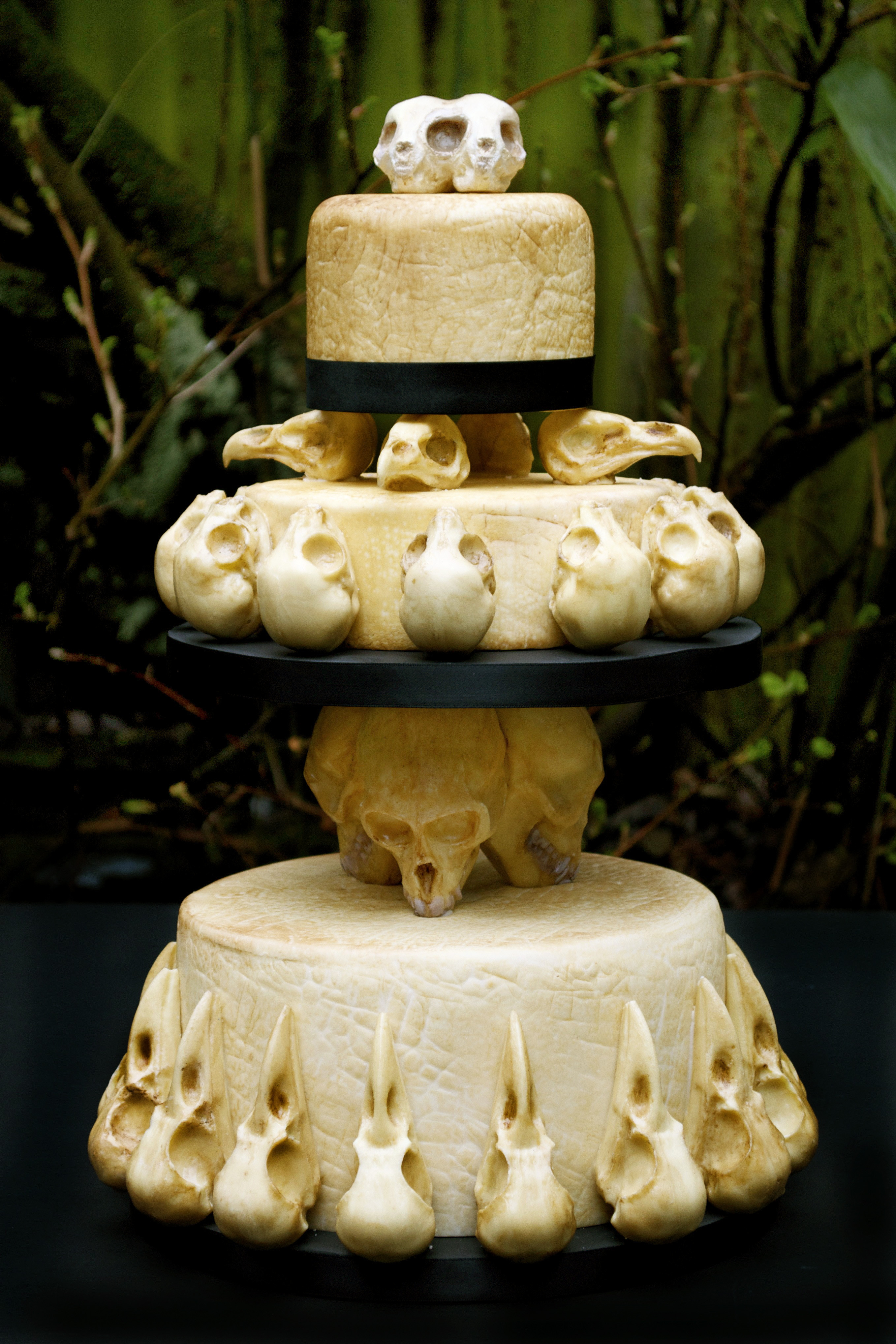 Skull Wedding Cakes  chocolate – Eat Your Heart Out