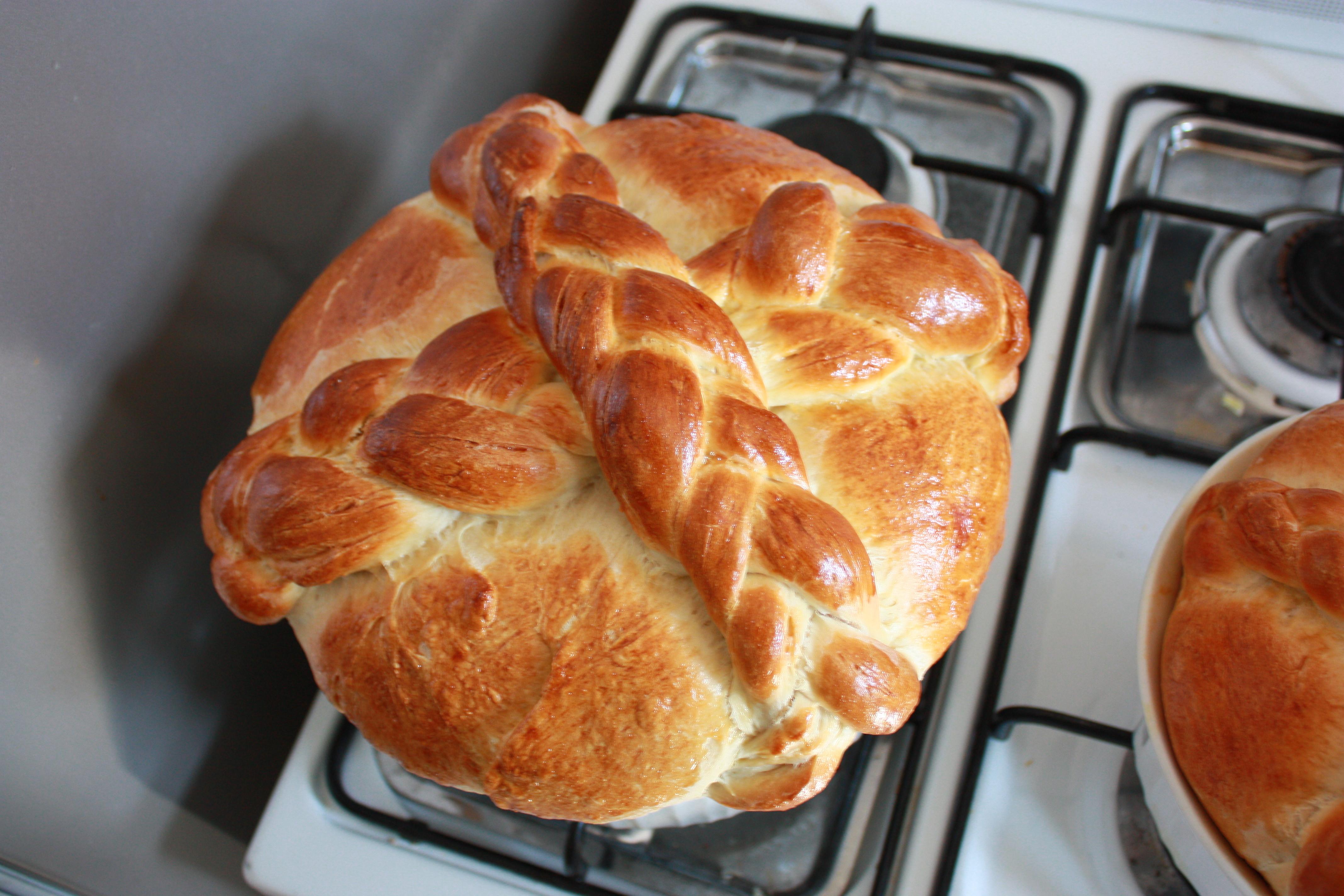 Slovak Easter Bread  Paska