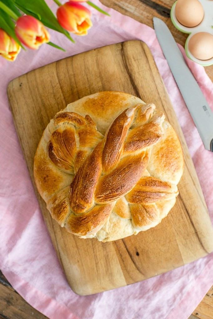 Slovak Easter Bread  Homemade Paska Slovak Easter Bread Nourish and Fete