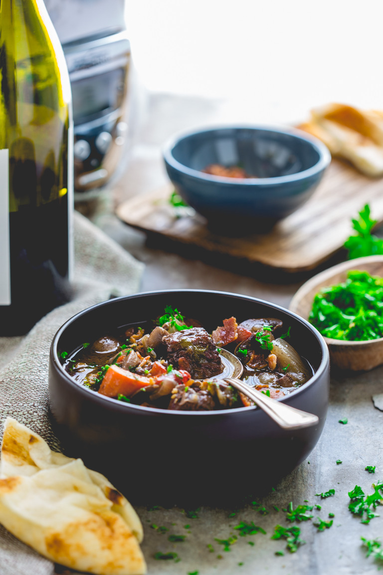 Slow Cooker Beef Recipes Healthy  healthy slow cooker beef burgundy Healthy Seasonal Recipes