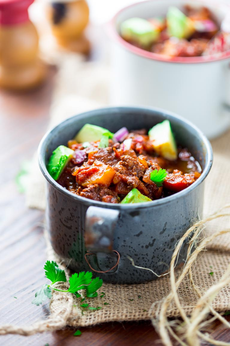Slow Cooker Beef Recipes Healthy  slow cooker paleo beef chili Healthy Seasonal Recipes