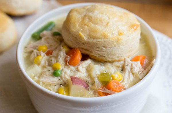 Slow Cooker Chicken Pot Pie Healthy  31 Crock Pot Dinner Recipes to Make All Month Long
