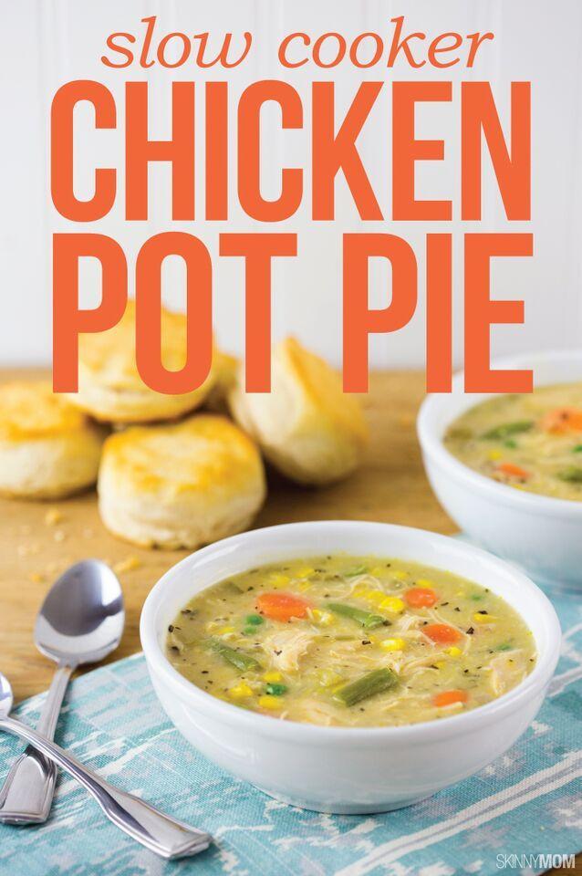 Slow Cooker Chicken Pot Pie Healthy  Slow Cooker Chicken Pot Pie