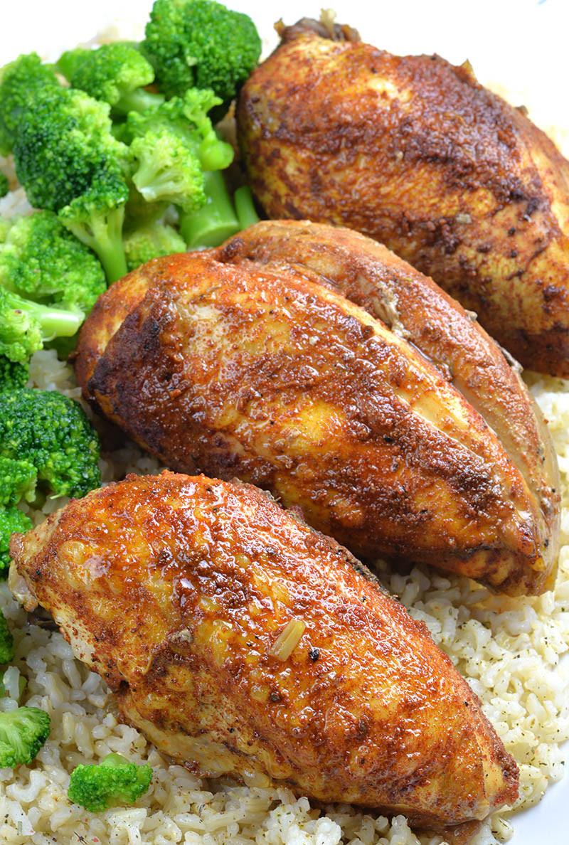 Slow Cooker Chicken Recipes Healthy  Healthy Slow Cooker Chicken Breast Recipe OMG Chocolate