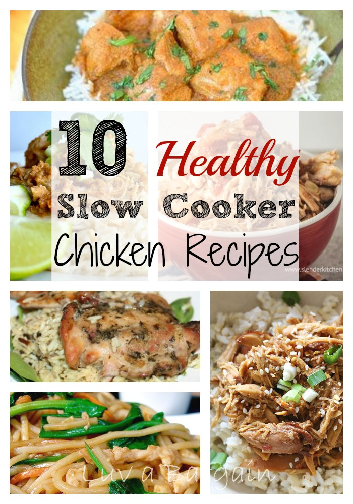 Slow Cooker Chicken Recipes Healthy  Healthy Slow Cooker Chicken Recipes To Simply Inspire