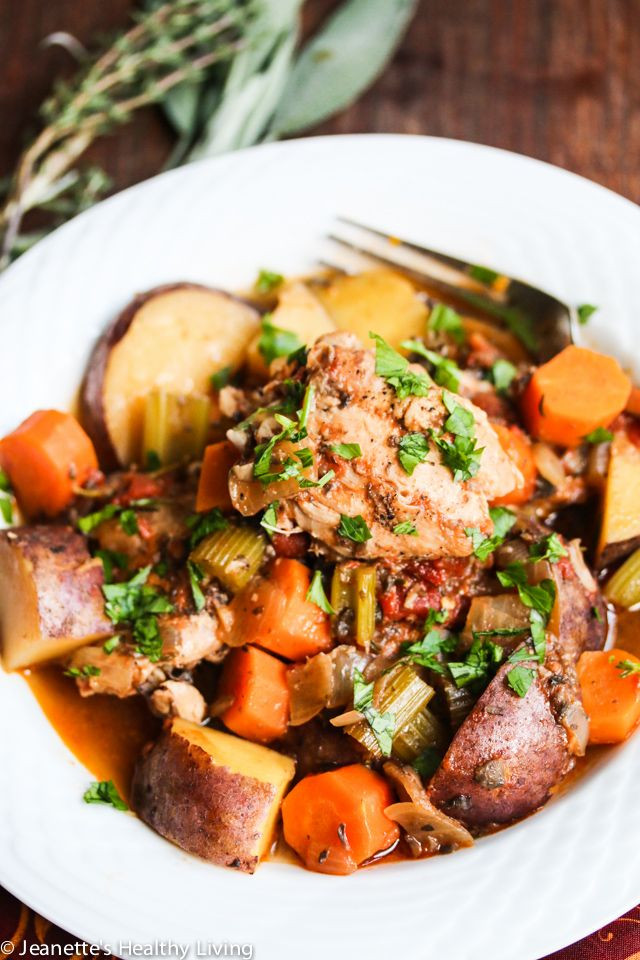 Slow Cooker Chicken Stew Recipes Healthy  Best 25 Ve able stew ideas on Pinterest