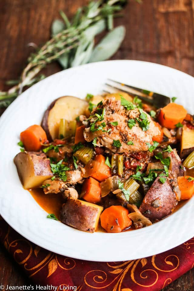 Slow Cooker Chicken Stew Recipes Healthy  Slow Cooker Chicken Ve able Stew Recipe Jeanette s