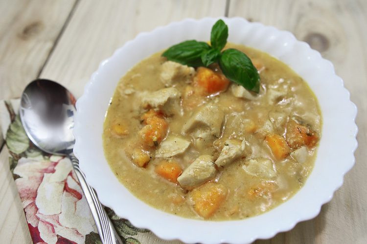 Slow Cooker Chicken Stew Recipes Healthy  Slow Cooker Cream of Chicken Stew