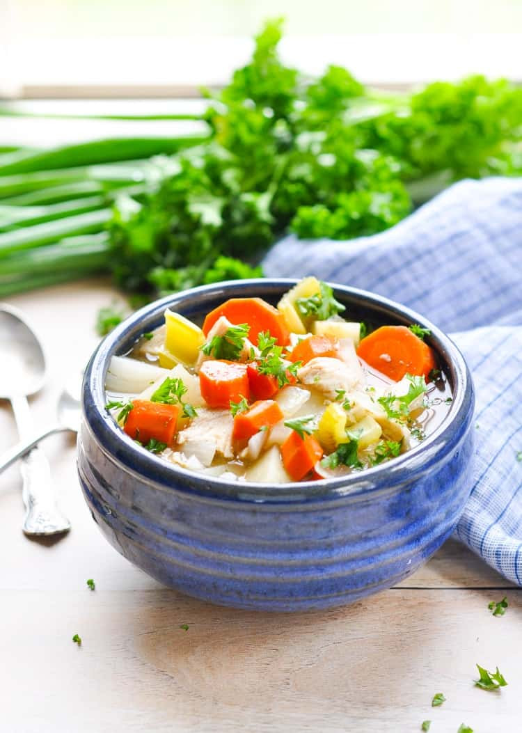 Slow Cooker Chicken Stew Recipes Healthy  Healthy Slow Cooker Chicken Stew The Seasoned Mom