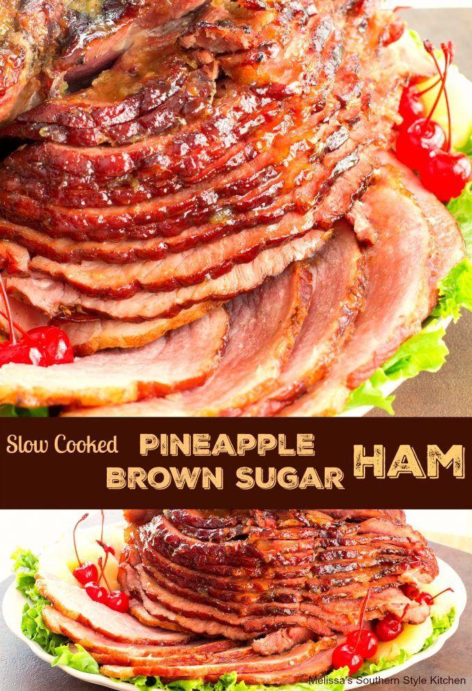 Slow Cooker Easter Ham  4156 best Best Slow Cooker Recipes images on Pinterest