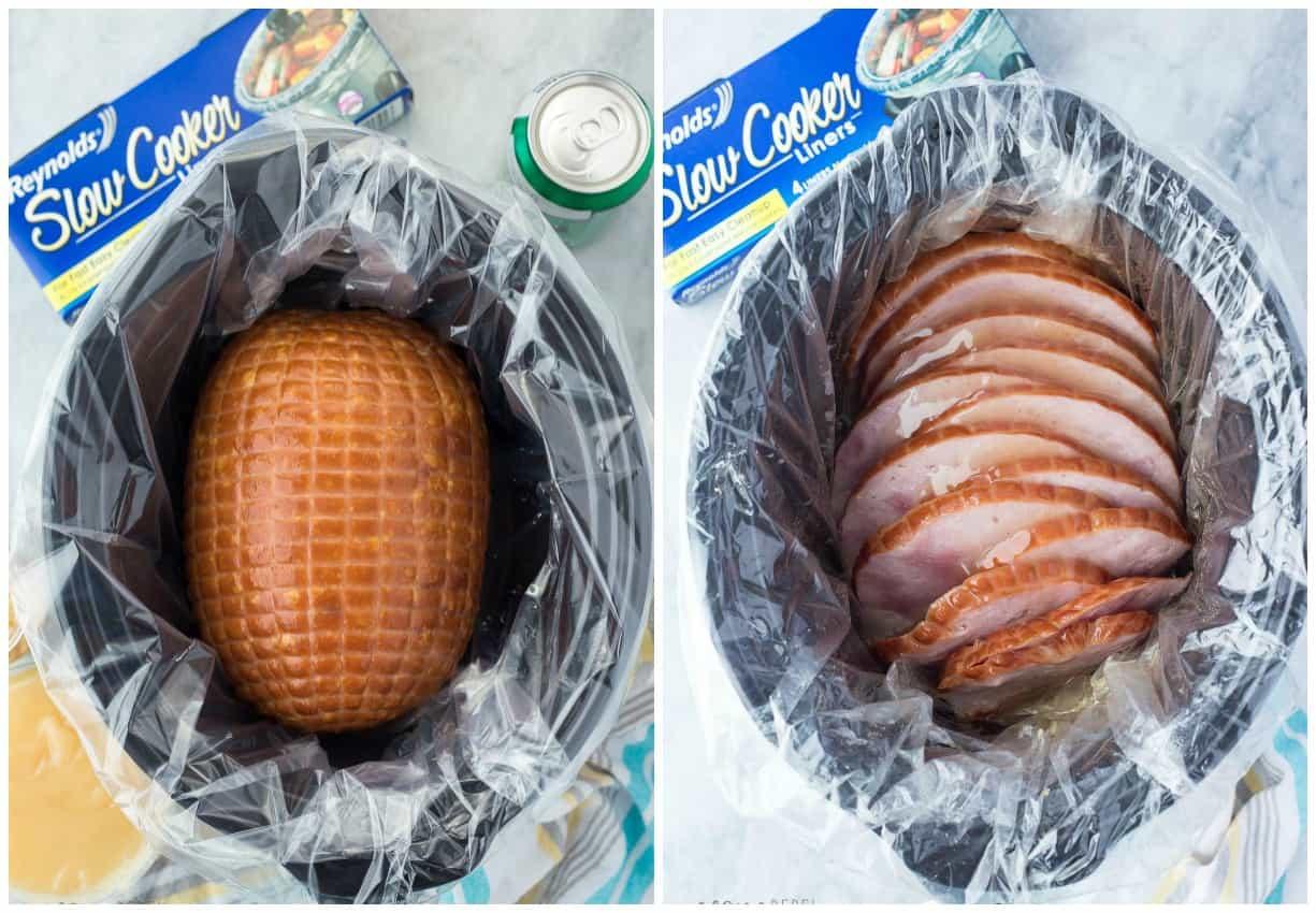 Slow Cooker Easter Ham  Slow Cooker Honey Glazed Ham Recipe CrockPot