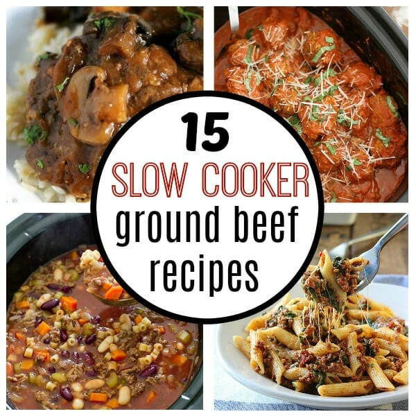 Slow Cooker Ground Beef Recipes Healthy  15 easy slow cooker ground beef recipes My Mommy Style