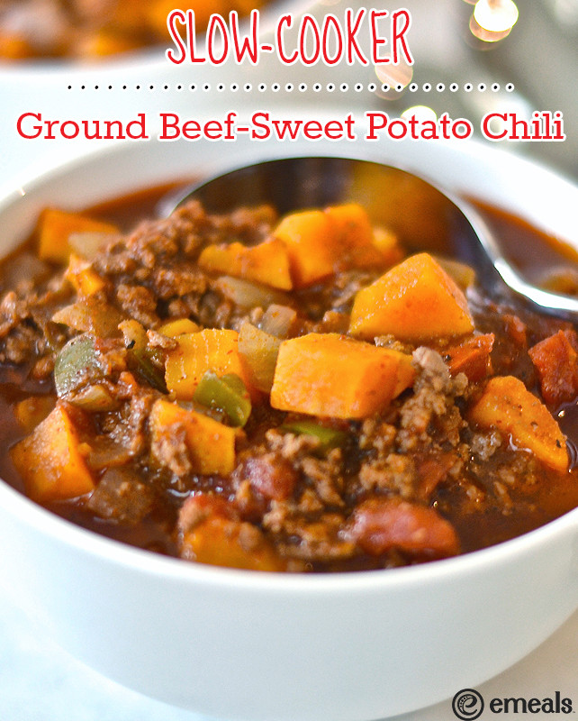 Slow Cooker Ground Beef Recipes Healthy  Paleo Slow Cooker Ground Beef Sweet Potato Chili — The