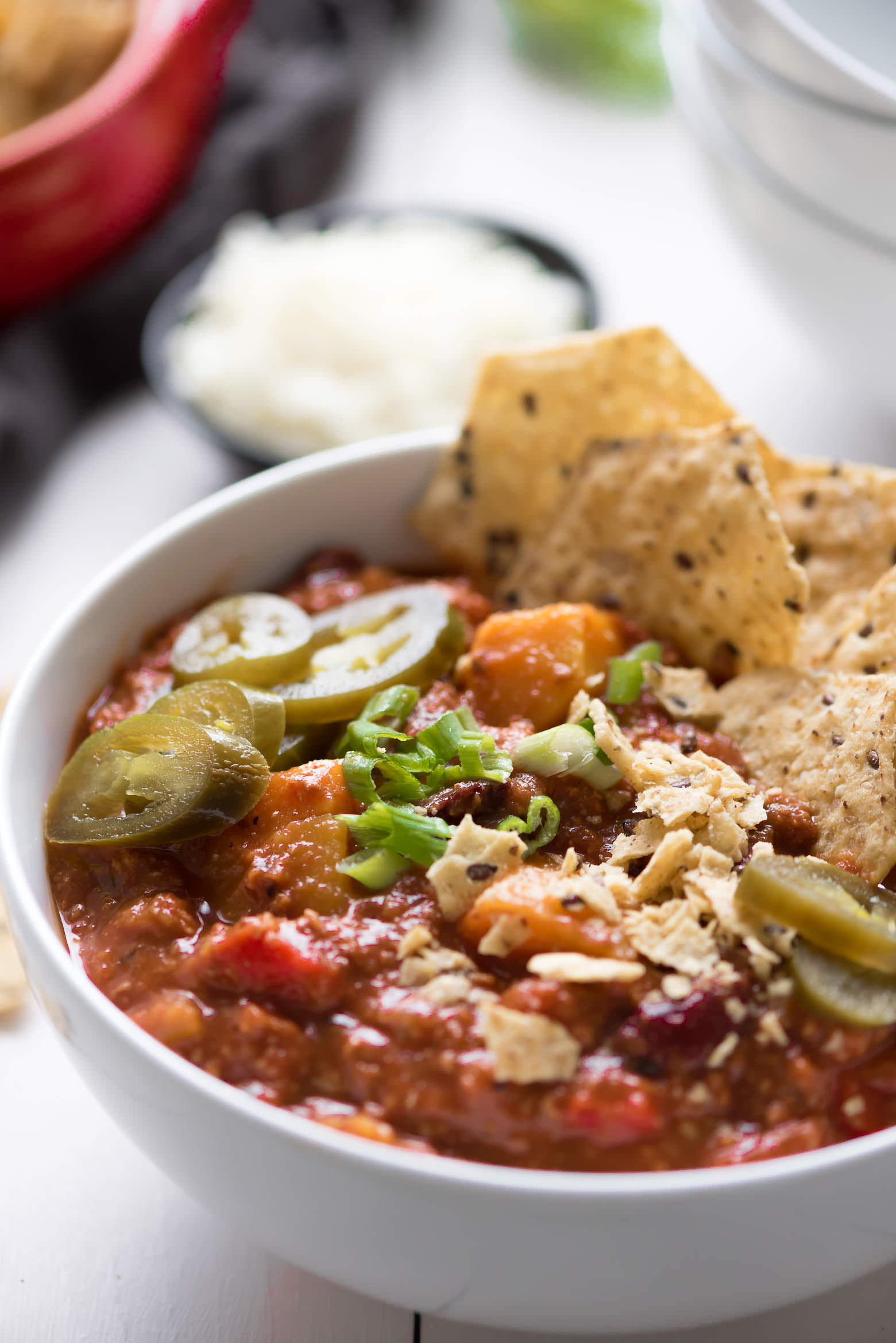 Slow Cooker Ground Turkey Recipes Healthy  Healthy Slow Cooker Chili