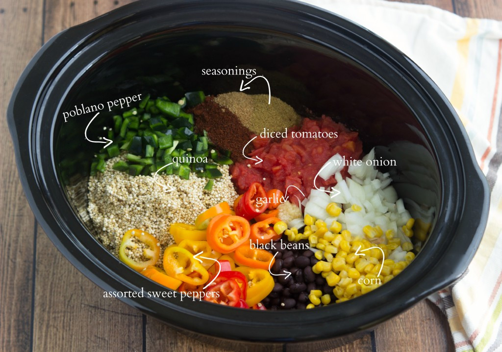 Slow Cooker Ground Turkey Recipes Healthy  Slow Cooker Quinoa Tex Mex Chelsea s Messy Apron