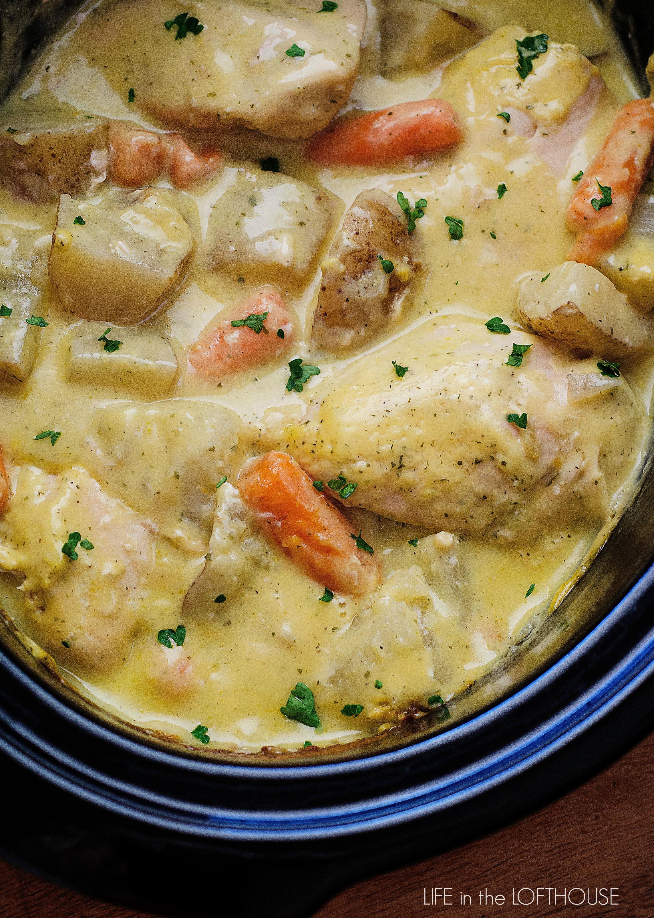 Slow Cooker Healthy Chicken Breast Recipes  Crock Pot Creamy Ranch Chicken