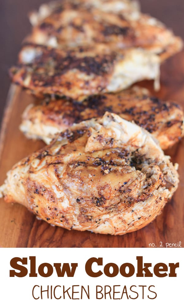 Slow Cooker Healthy Chicken Breast Recipes  Slow Cooker Chicken Breasts No 2 Pencil