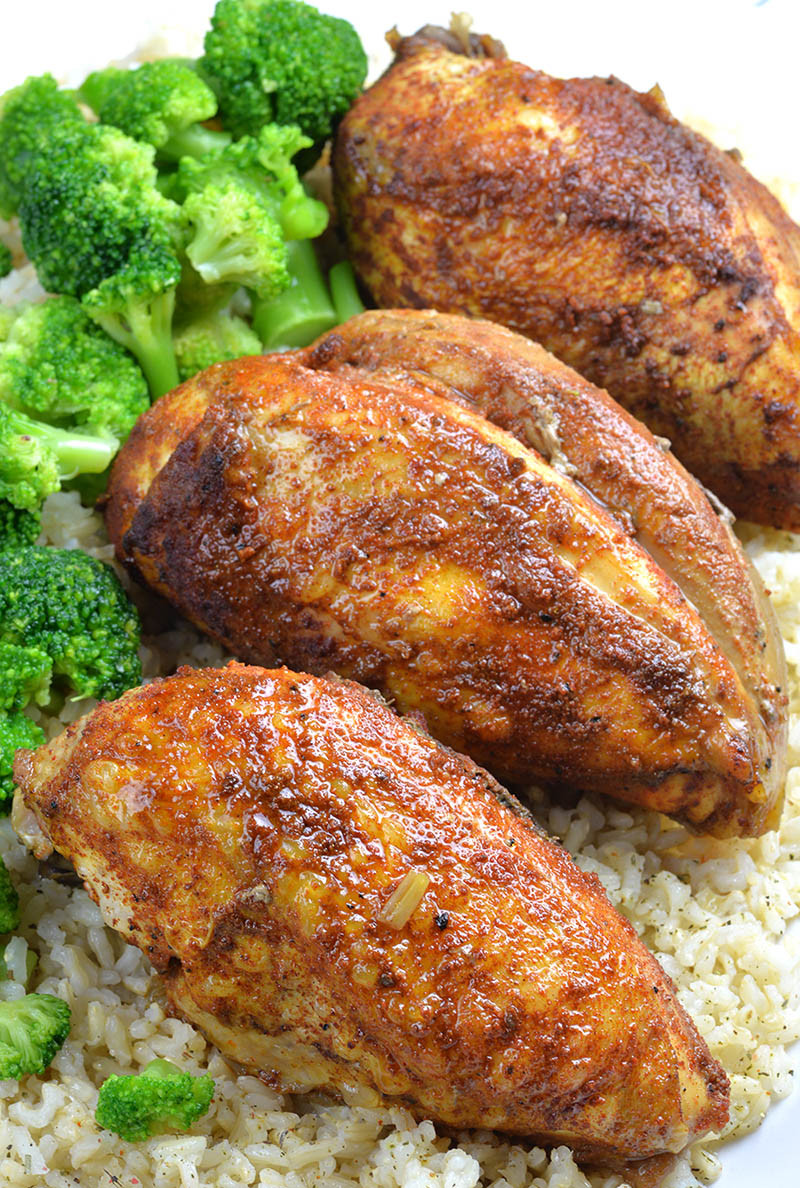 Slow Cooker Healthy Chicken Breast Recipes  Healthy Slow Cooker Chicken Breast Recipe OMG Chocolate