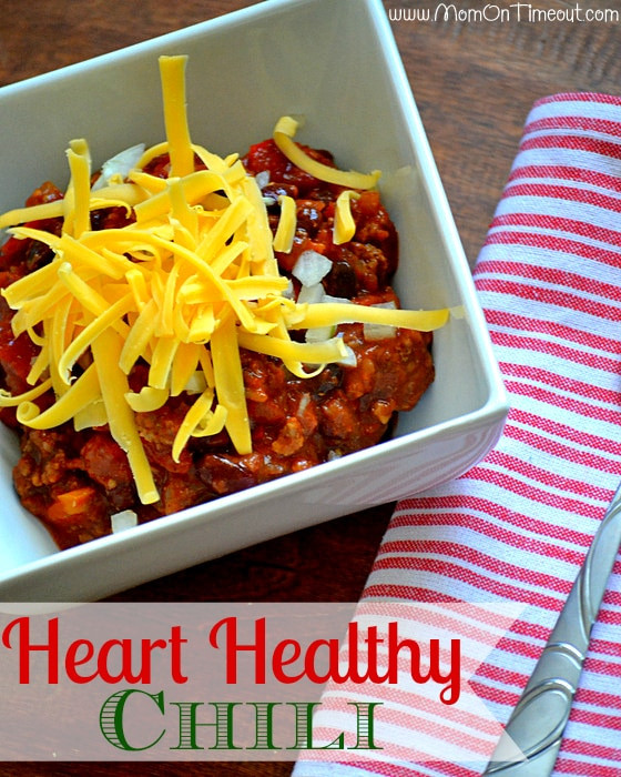 Slow Cooker Heart Healthy Recipes  Heart Healthy Slow Cooker Chili Recipe Mom Timeout