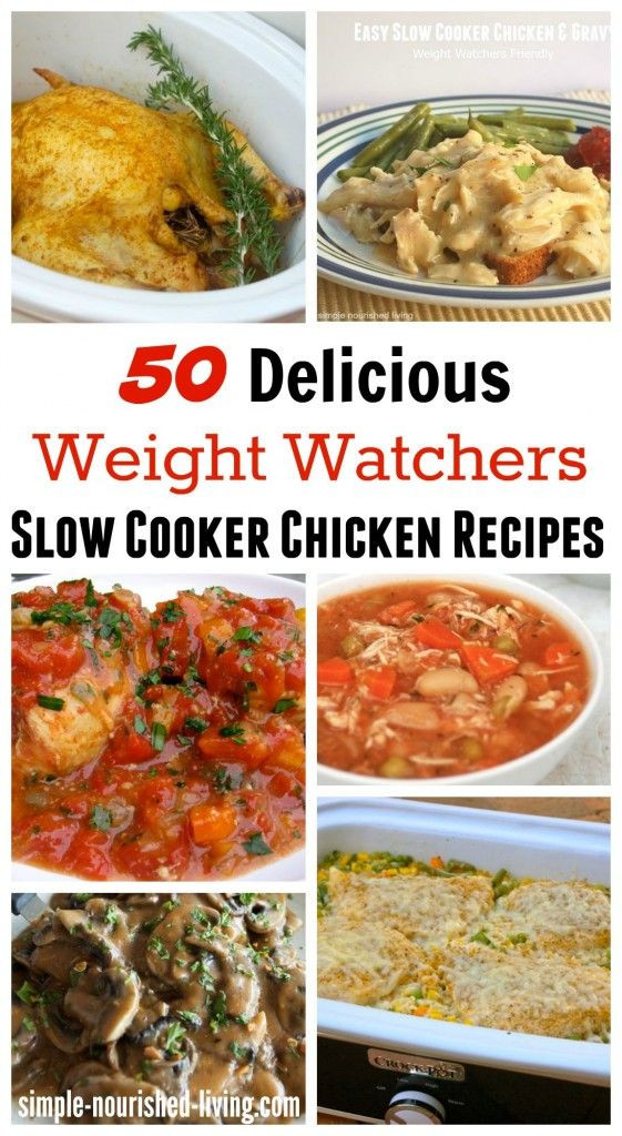 Slow Cooker Heart Healthy Recipes  Healthy Slow Cooker Chicken Recipes for Weight Watchers