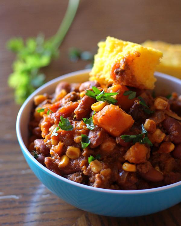 Slow Cooker Sweet Potato Recipes Healthy  Slow Cooker Sweet Potato Chili a Nomad s Dream