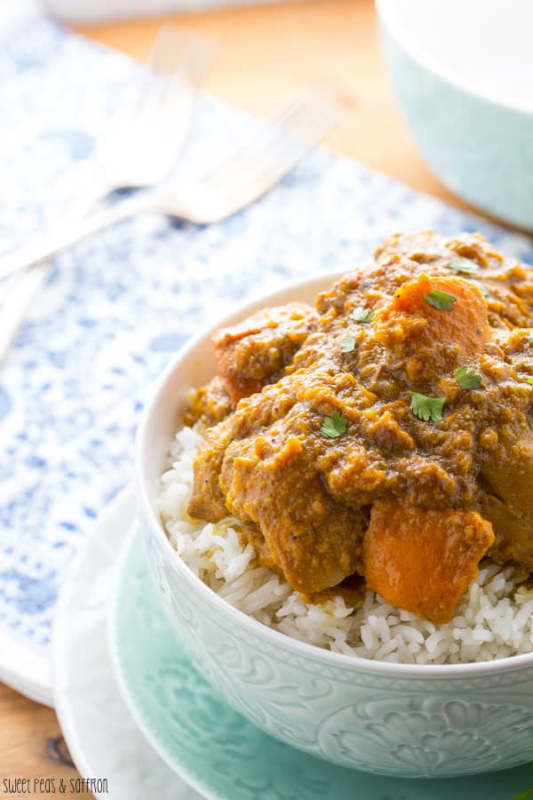 Slow Cooker Sweet Potato Recipes Healthy  Slow Cooker Chicken Korma with Sweet Potato Instant Pot