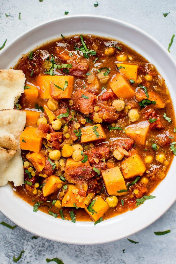 Slow Cooker Sweet Potato Recipes Healthy  Vegan Sweet Potato Curry Crockpot Recipe • Salt & Lavender