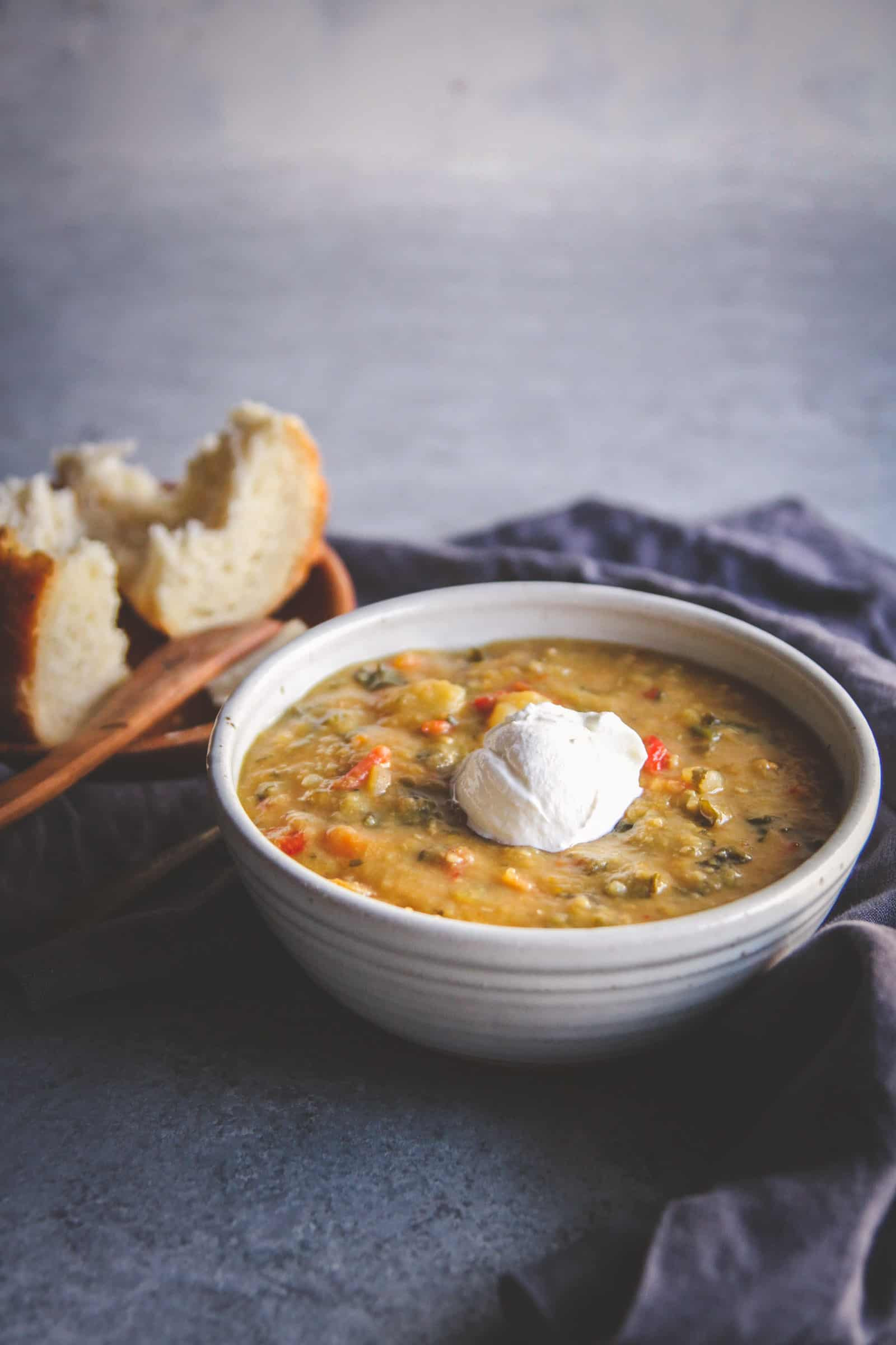 Slow Cooker Vegetable Soup Recipes Healthy  Healthy Slow Cooker Lentil and Ve able Soup Sweetphi
