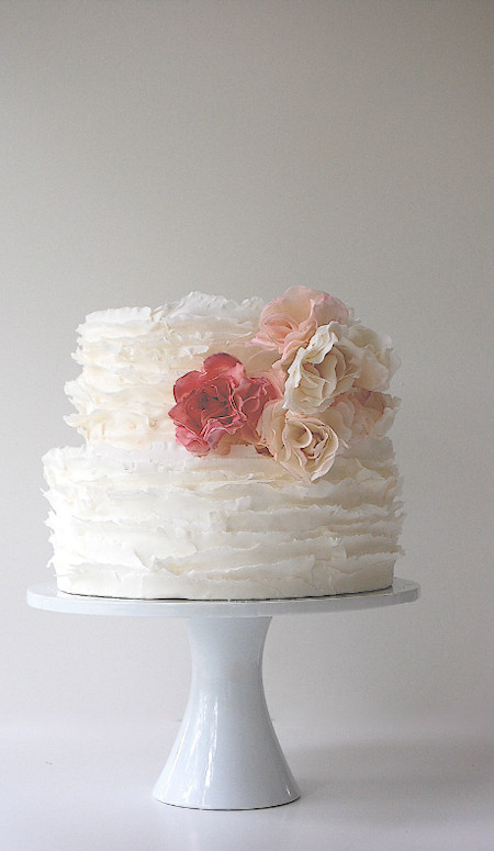 Small Elegant Wedding Cakes  Maggie Austin Wedding Cakes Bitsy Bride