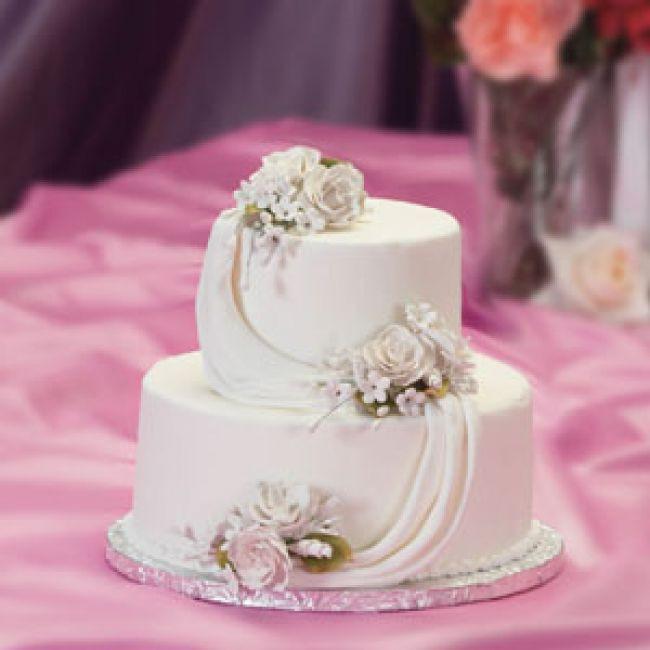 Small Elegant Wedding Cakes  Small Simple Wedding Cakes Wedding and Bridal Inspiration