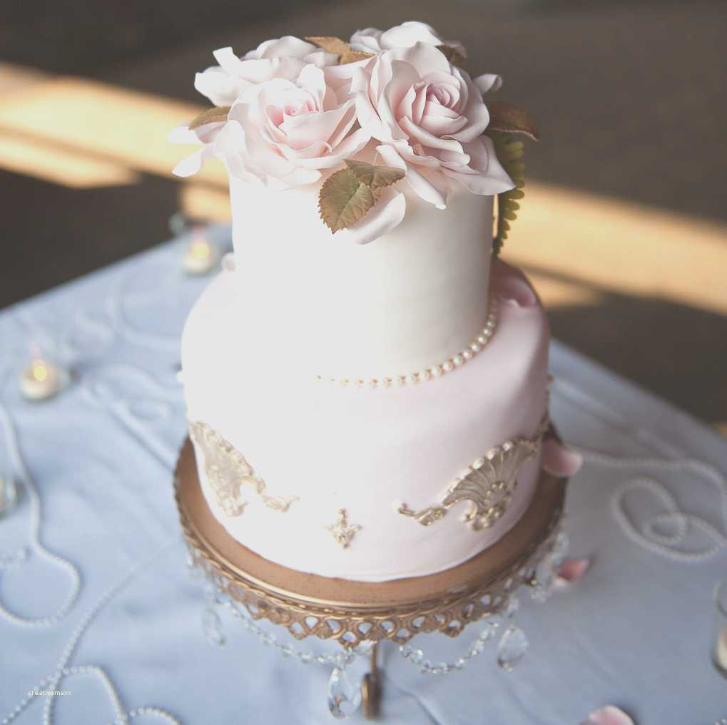Small Elegant Wedding Cakes  Simple two tier wedding cake purple elegant wedding cakes
