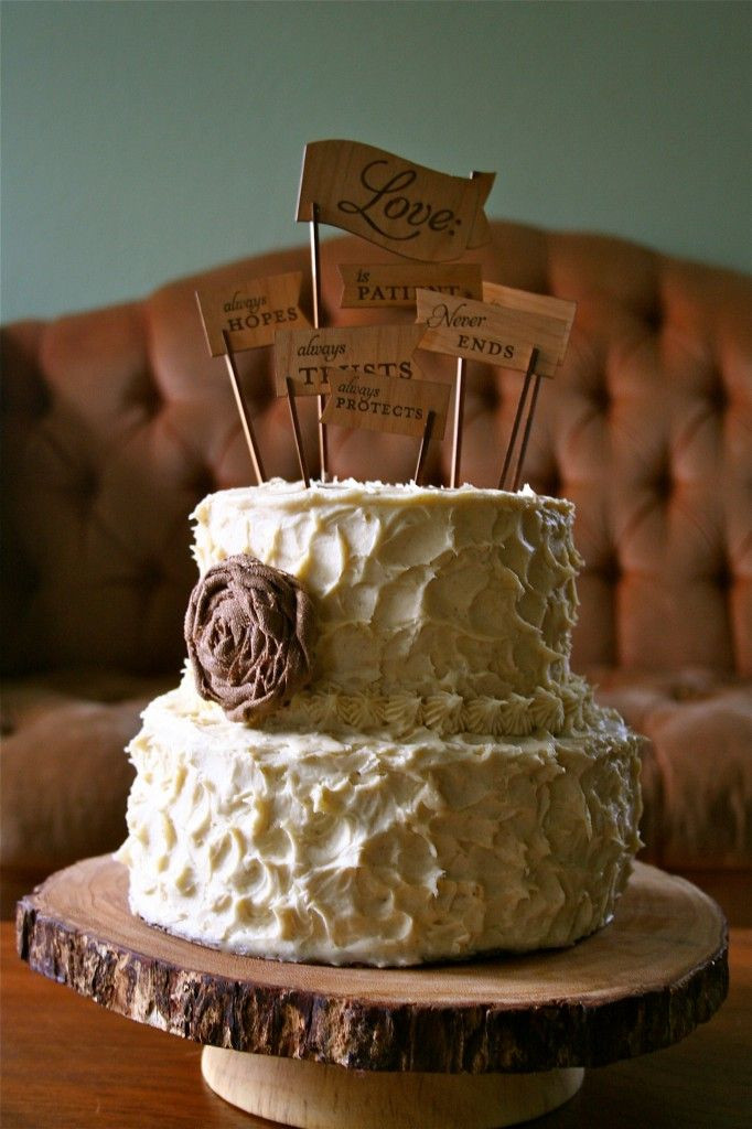 Small Rustic Wedding Cakes  97 best images about Rustic Cakes on Pinterest