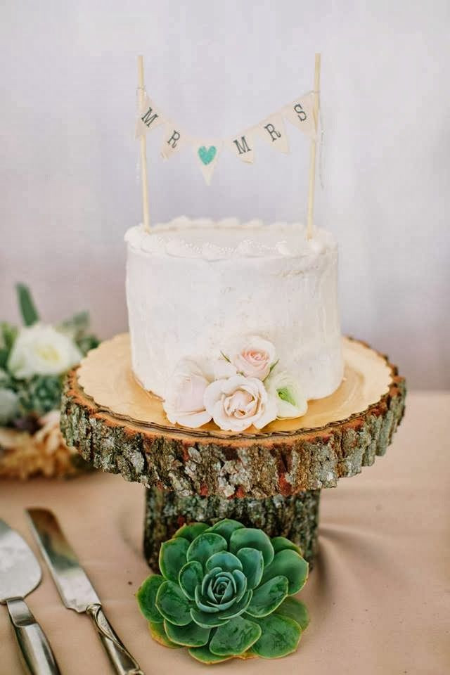 Small Rustic Wedding Cakes  25 CUTE SMALL WEDDING CAKES FOR THE SPECIAL OCCASSION