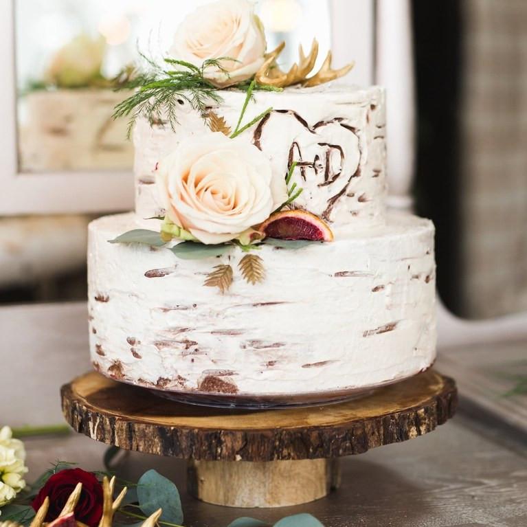 Small Rustic Wedding Cakes  36 Rustic Wedding Cakes