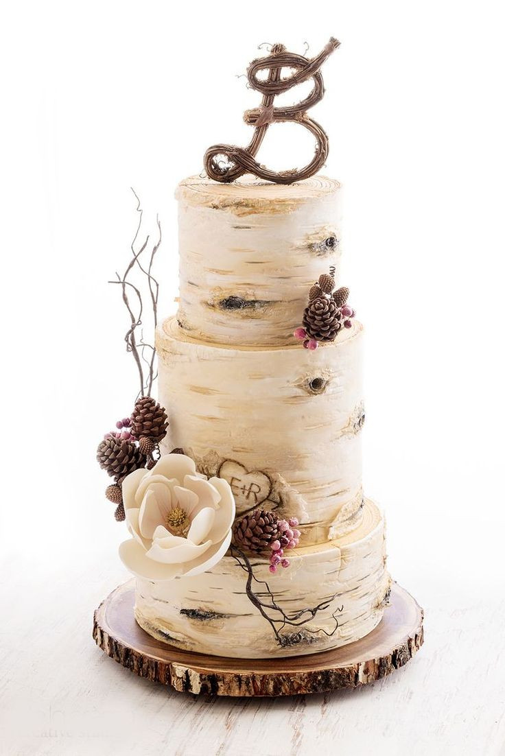 Small Rustic Wedding Cakes  The 25 best Rustic wedding cakes ideas on Pinterest