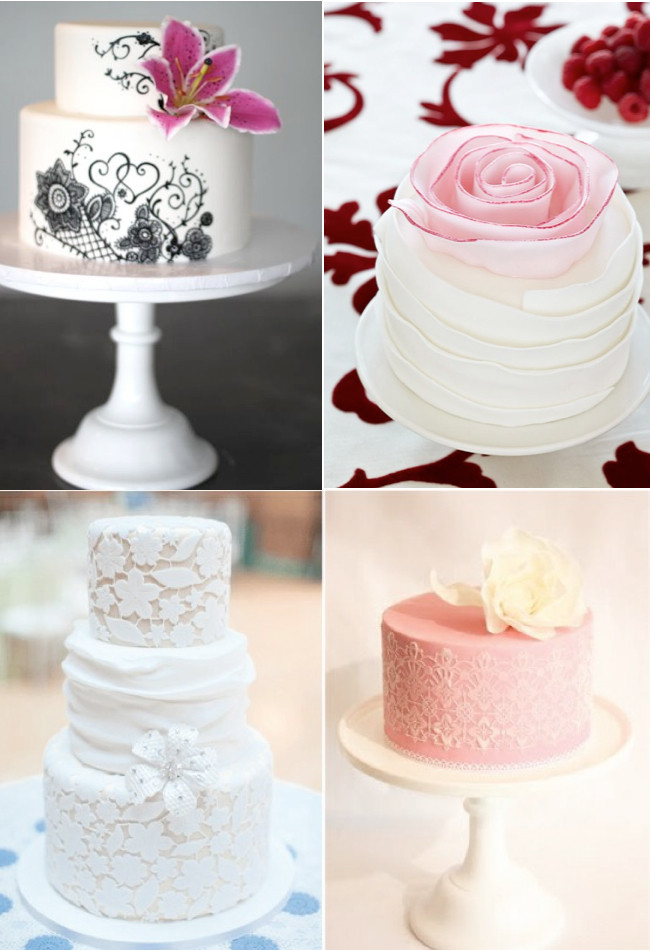 Small Wedding Cakes Designs  Amazing Wedding Cake Weddings By Lilly