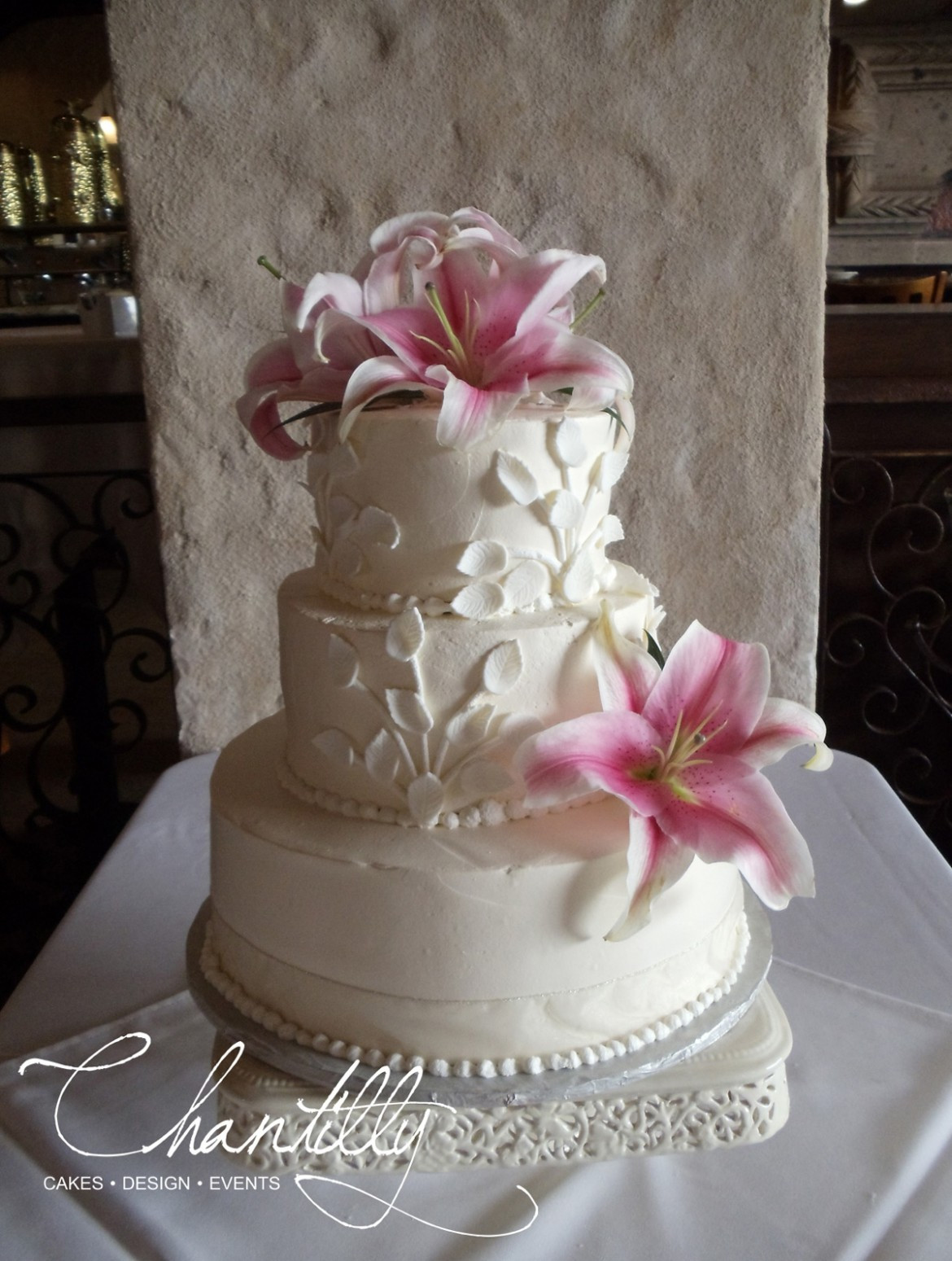 Small Wedding Cakes Pictures  Small Wedding Cake Chantilly Cakes
