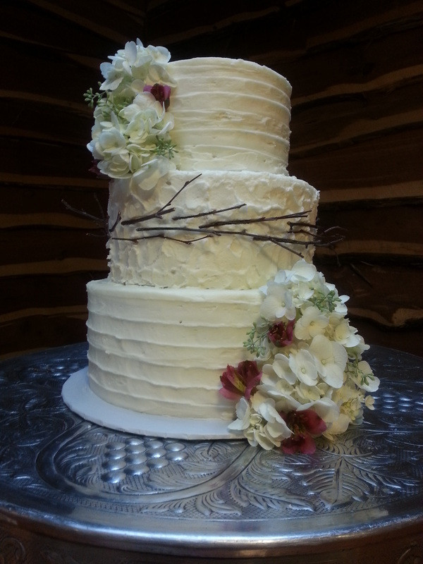 Small Wedding Cakes Pictures  Small Wedding Cakes Kayla Knight Cakes