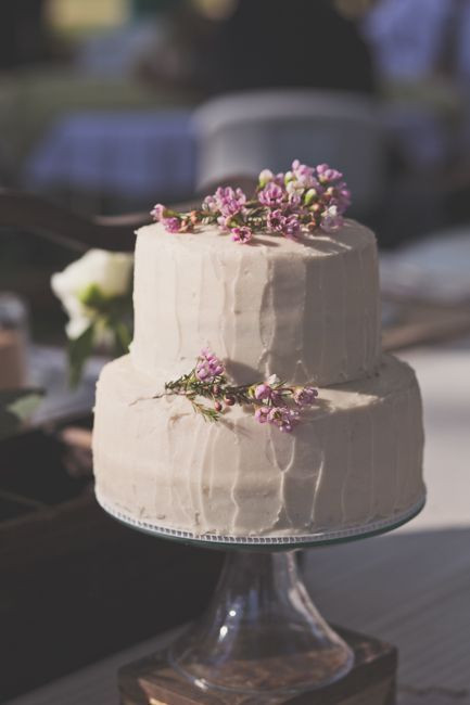 Small Wedding Cakes  Vintage Style Wedding Cakes Rustic Wedding Chic