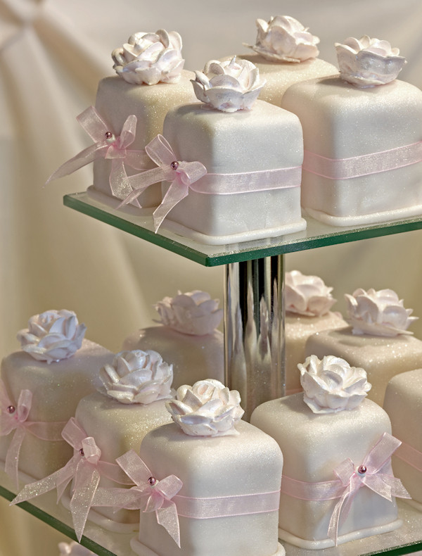 Small Wedding Cakes With Cupcakes  White Wedding Cupcakes Bitsy Bride