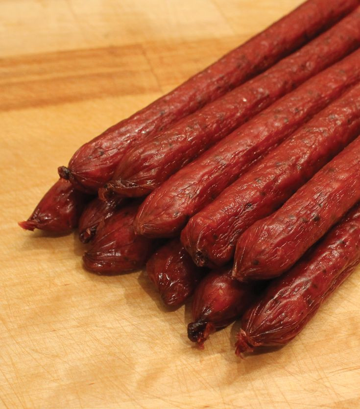 Smoked Beef Summer Sausage Recipe  1000 ideas about Smokehouse on Pinterest