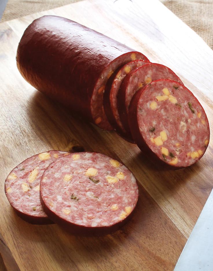 Smoked Beef Summer Sausage Recipe  Jalapeno Cheddar Summer Sausage Recipe