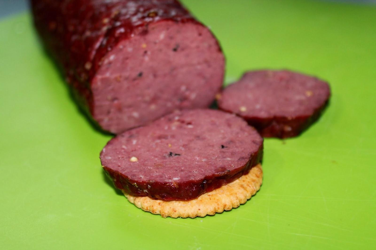 Smoked Beef Summer Sausage Recipe  Man That Stuff Is Good Homemade Venison Summer Sausage