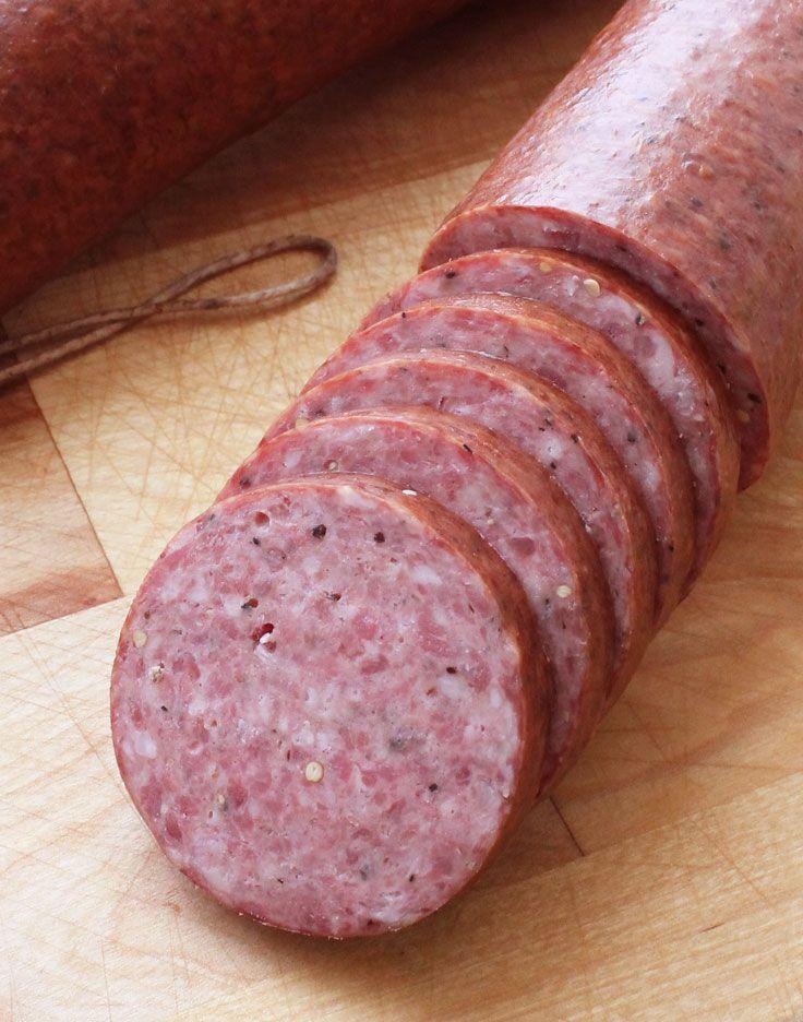 Smoked Beef Summer Sausage Recipe  Best 25 Homemade smoker ideas on Pinterest